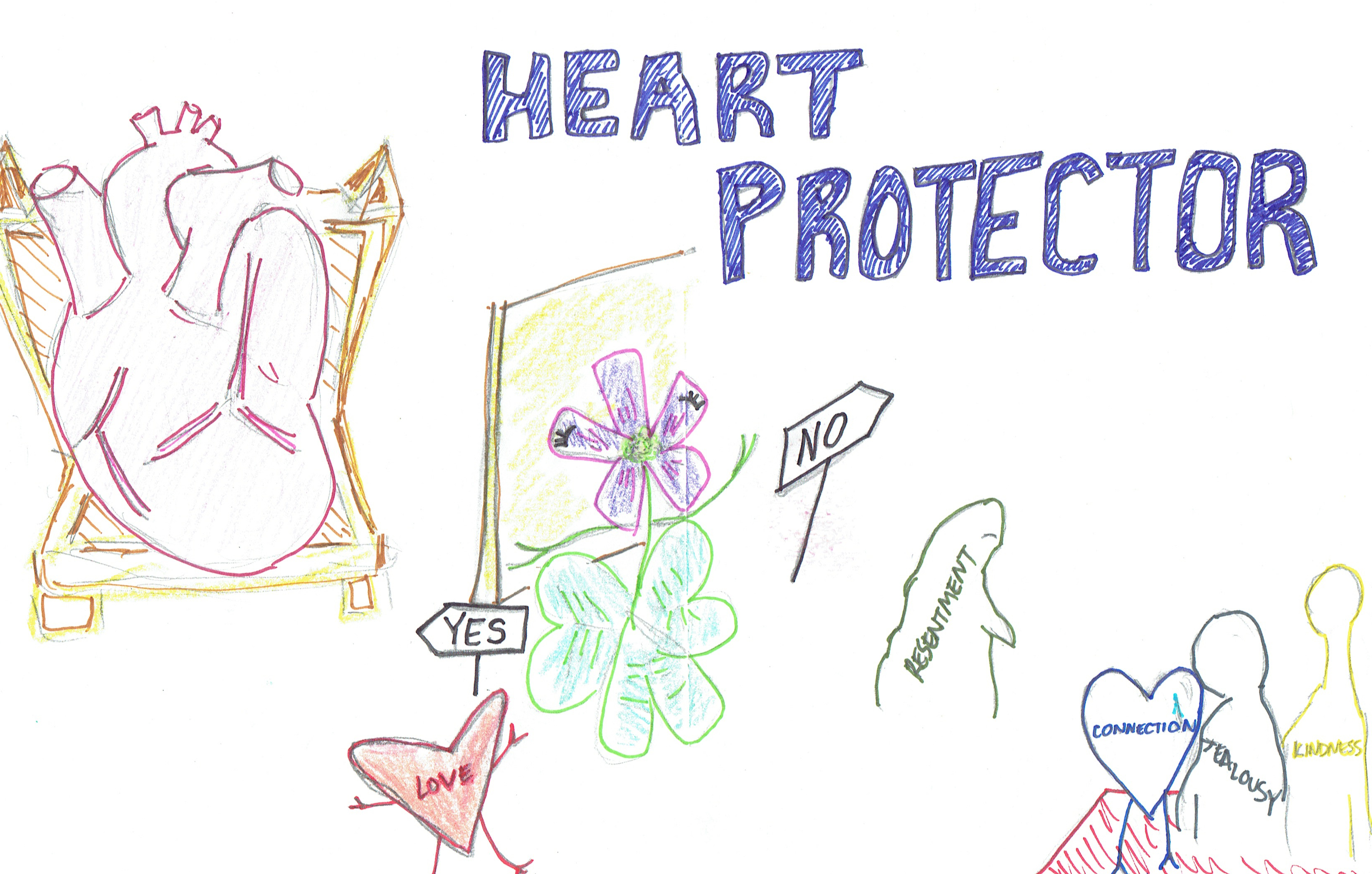 HeartProtector_cartoon